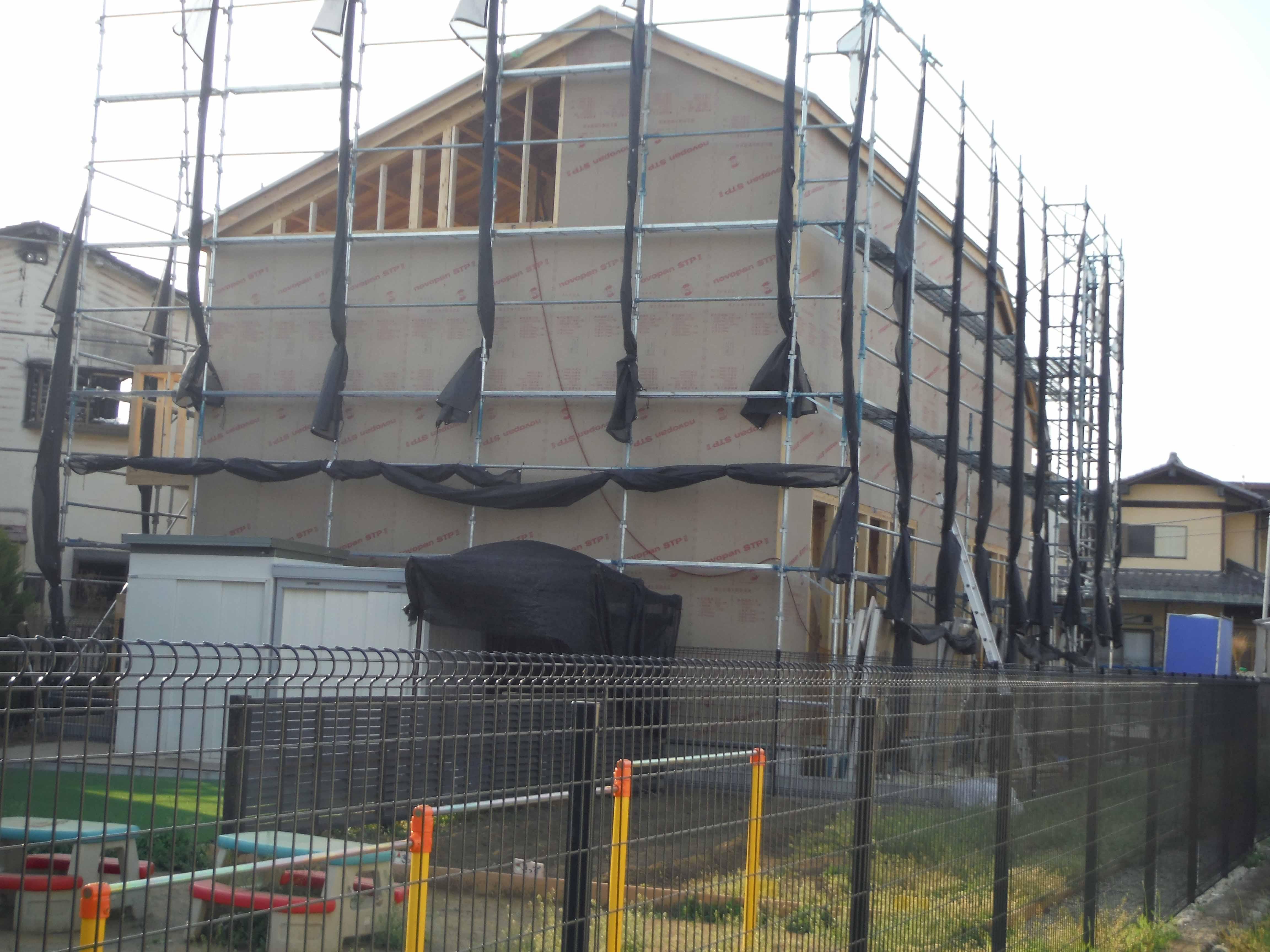 屋根の組み立て(